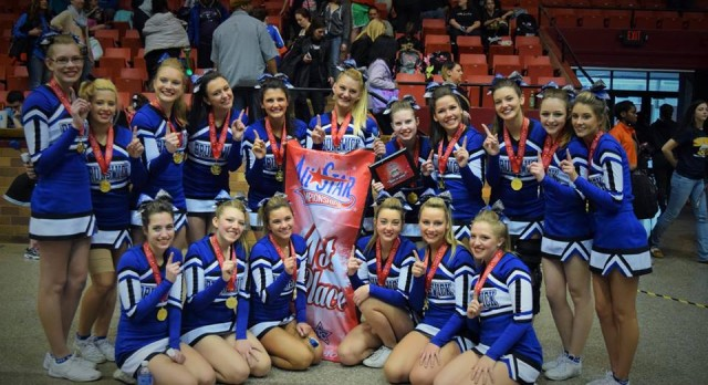 Competition Cheer wins Canton Spring Fling