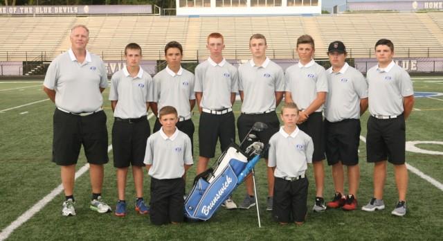 Brunswick Senior High School Boys Junior Varsity Golf beat Padua Franciscan High School 166-209