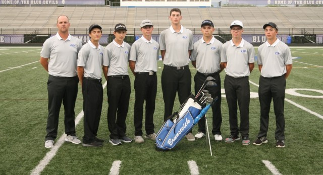 Brunswick Senior High School Boys Varsity Golf finishes 1st place