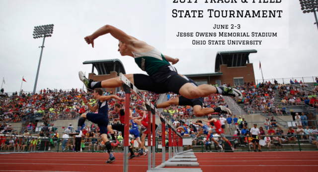 Track and Fields 10 State Qualifiers