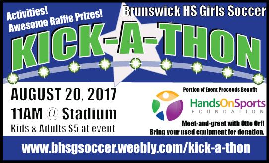 3rd Annual Girls Soccer Kick-A-Thon