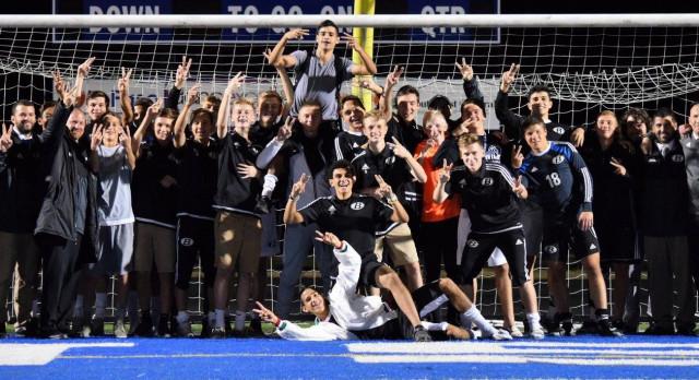 Brunswick Senior High School Boys Varsity Soccer beat vs Elyria HS 4-0