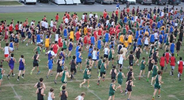 Cross Country Meet Tomorrow at Sandhills at 5:30!