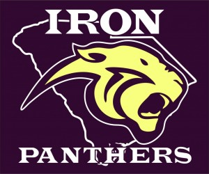 new IRON Panters logo