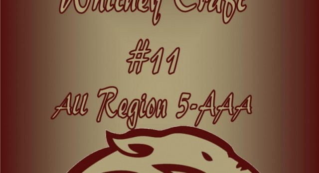 Congratulations Whitney Craft! All Region 5-AAA!
