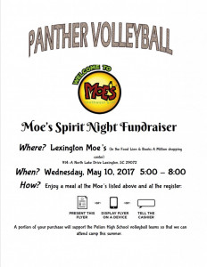 Moes fundraiser