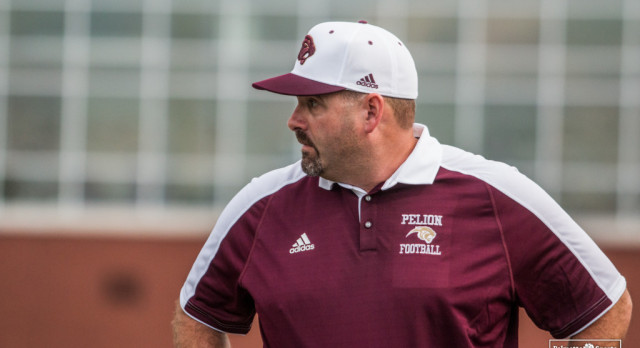 Pelion High School Varsity Football beat CALHOUN COUNTY 33-22