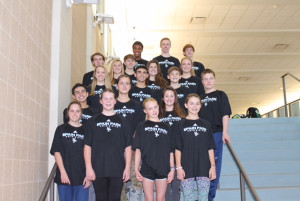 SPHS Swim & Dive Team at Sectionals