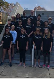 Swim & Dive Team at State Meet