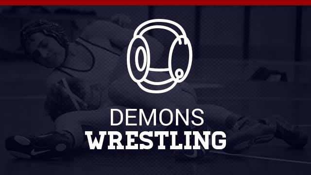 Demon Wrestling Qualifies 5 for SC State Finals