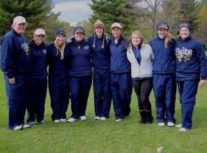 Girls Golf Finishes 7th in the State