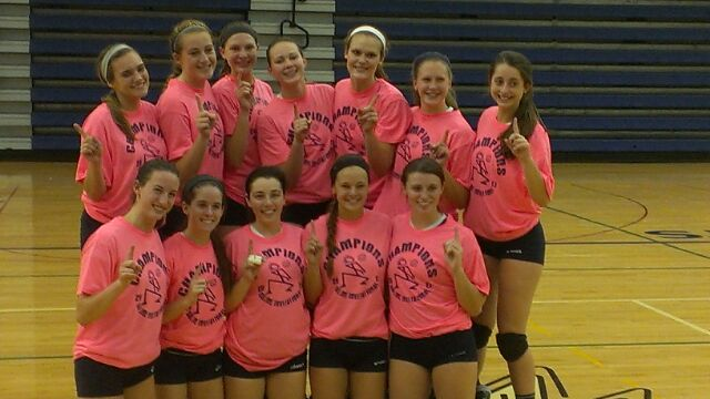 Varsity Volleyball Wins the Saline Early Bird Invite