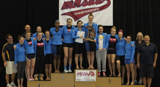 Girls Swim and Dive – State Runner-ups!