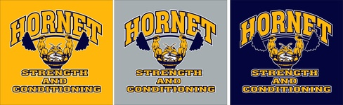 New Strength and Conditioning Shirts