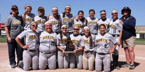 Girls Softball:  District Champions!