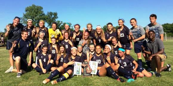 Girls Soccer:  District Champions