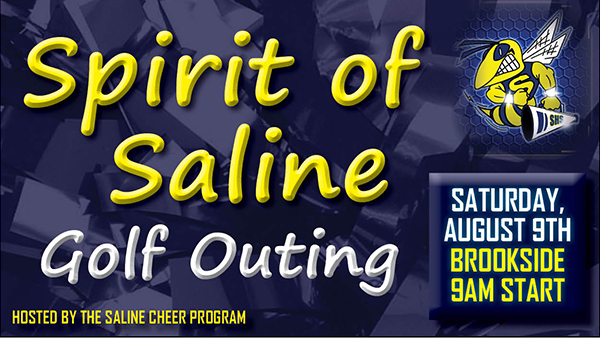 Spirit of Saline Golf Outing – Aug. 9