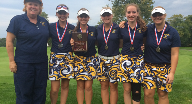 Girls Golf – All State All Academic Team
