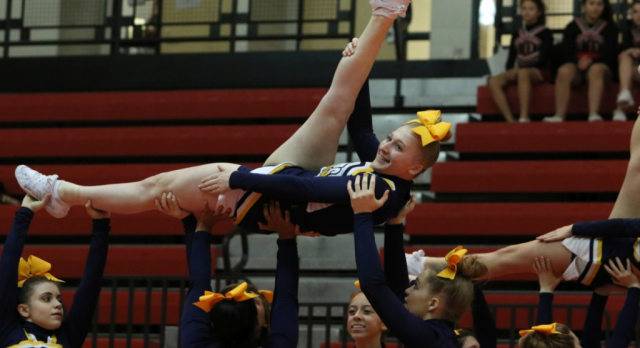 Competitive Cheer Invitational – this Saturday!
