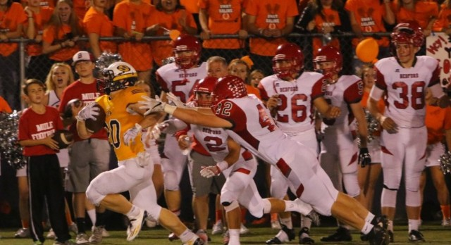 The Saline Post: Patteri Field Goal Lifts Saline Over Bedford in Thriller at Hornet Stadium