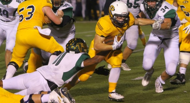 The Saline Post: Saline Dominates in Battle of the Undefeated
