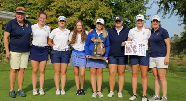 The Saline Post: Loftus Leads Hornets to Regional Golf Championship