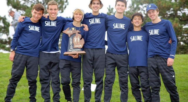 The Saline Post: Saline Wins Regional Boys Cross Country Title