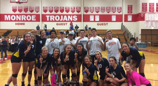 The Saline Post: Saline Wins First Conference Title in Years at Monroe