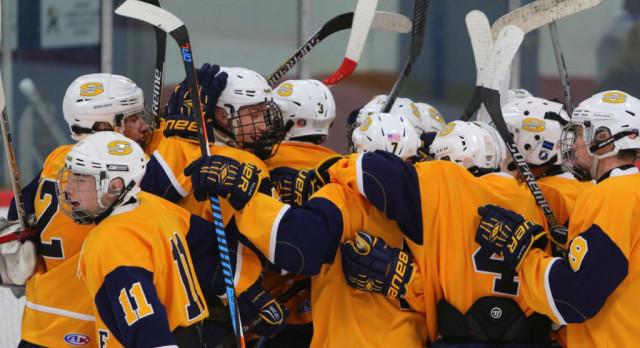 The Saline Post: Saline Bests Pioneer 6-5 in Thanksgiving Eve Hockey Game