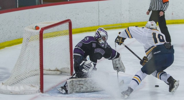 MLive: Saline scores two short-handed goals in 4-1 win over rival Ann Arbor Pioneer