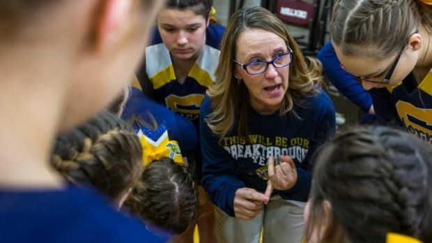 MLive: Mother-daughter coaching duo hoping to bring stability to Saline cheer program