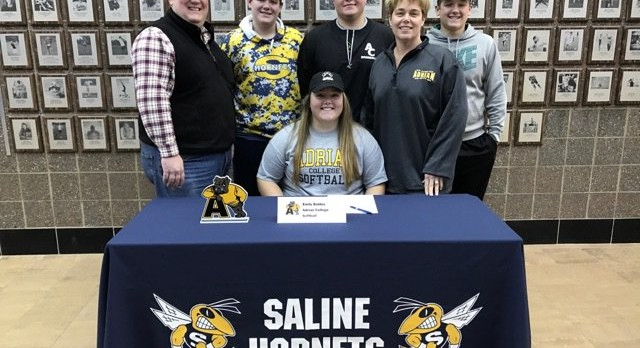 The Saline Post: Softball Ace Baldus Commits to Play at Adrian College