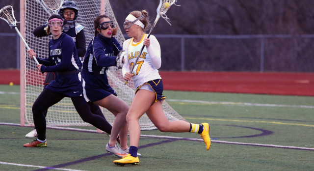 The Saline Post: Late Rally Costs Saline Girls LAX