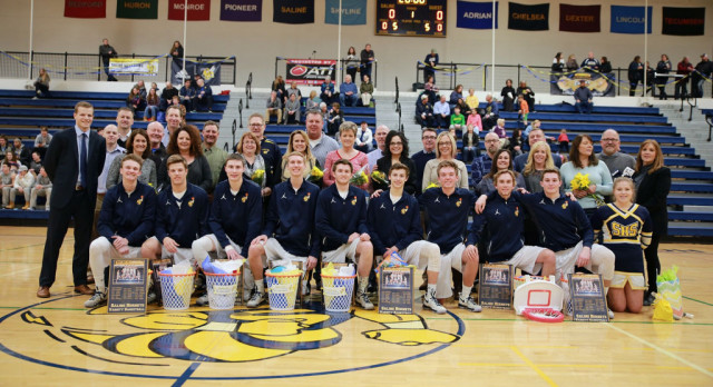 The Saline Post: Loss on Senior Night Doesn't Diminish Great Season