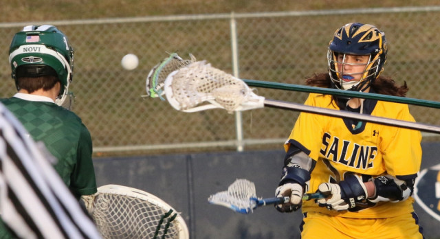 The Saline Post: After 20-5 Trrashing of Bedford, Saline LAX is 2-1