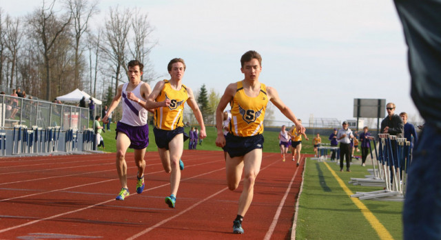 The Saline Post: Hornet Boys Win as Saline Hosts First Home Track Meet
