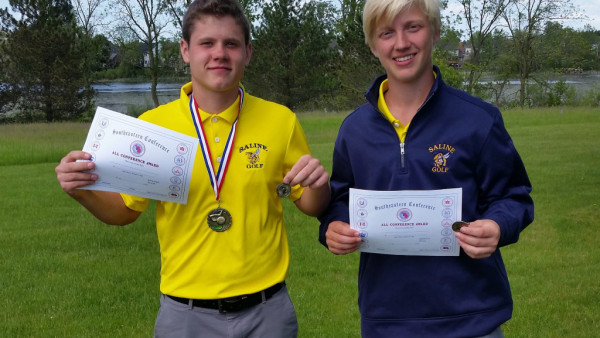 Josh Brinks, Jack Woods All  Conference Picture