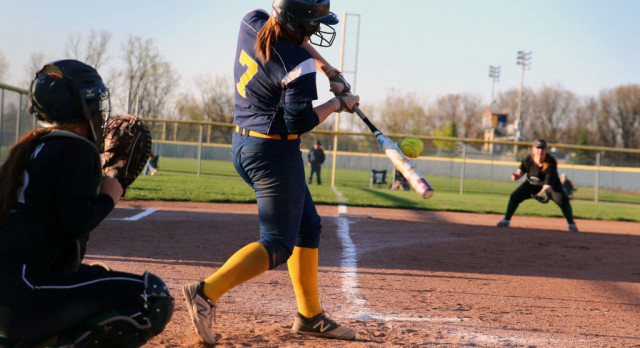 The Saline Post: Bauer Helps Saline Slam Adrian