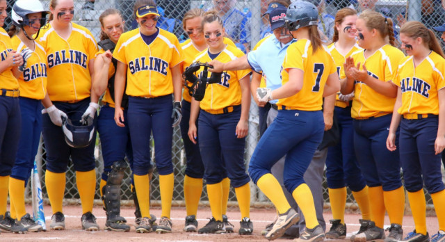 The Saline Post: Softball Team Falls in District Final