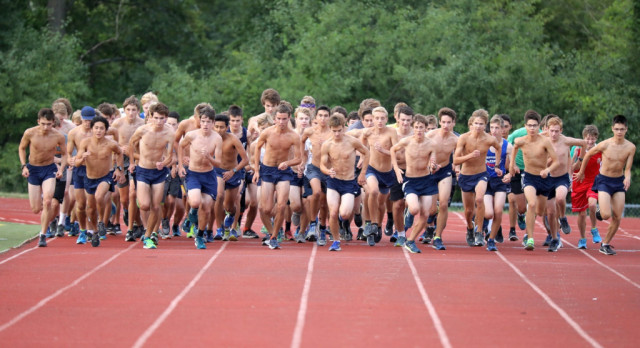 The Saline Post: Gallery: Saline Cross Country Kicks Off Season With Time Trials