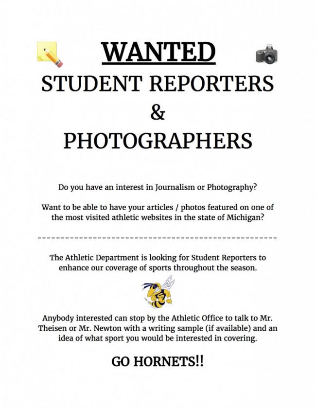 Student Reporter
