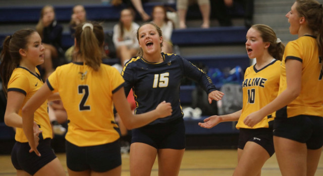 The Saline Post: VOLLEYBALL: Saline Sweeps Ypsilanti