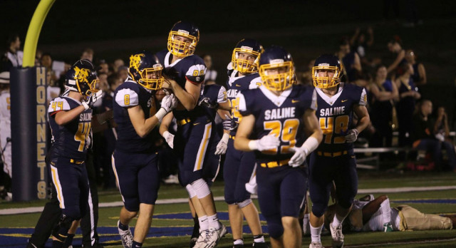 The Saline Post: FOOTBALL: Saline's 64 Points Ranks in Top 5 in Team History