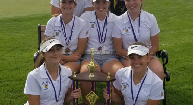 The Saline Post: GOLF: Saline Still Undefeated in SEC, Takes 2nd In Pioneer Invite