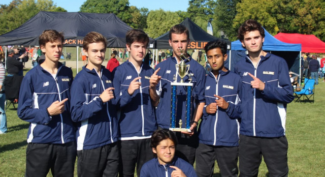 The Saline Post: Saline Varsity Boys Cross Country Team Wins at Bath Invitational
