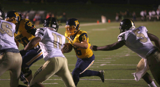 The Saline Post: GALLERY: Munday Runs for 3 TDs as Saline Defeats Ypsilanti, 24-13