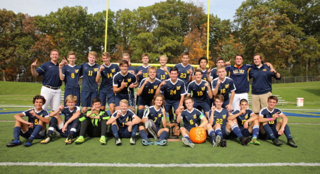 The Saline Post: DISTRICT CHAMPS: Fenelon Scores 2 as Saline Blanks Bedford, 4-0