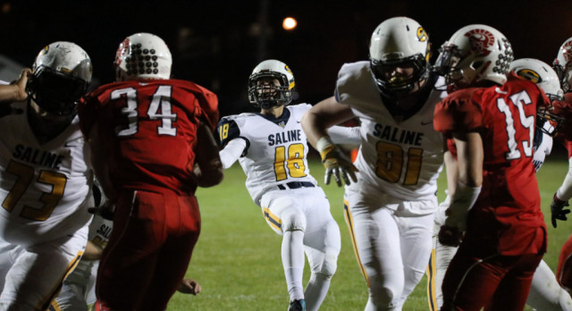 The Saline Post: Saline's Vinnie Patteri Gets His Kicks Winning Football Games