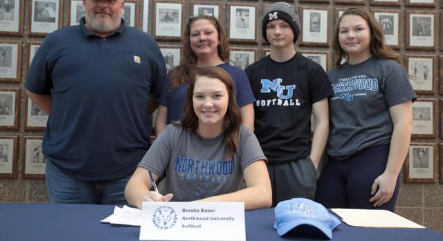 The Saline Post: Saline Slugger Brooke Bauer Commits to Northwood University