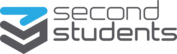 Second Students logo with text